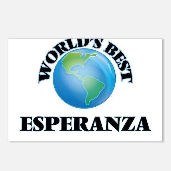 World's Best Esperanza Postcards (Package of 8)