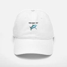 Custom Blue Shark Baseball Baseball Baseball Cap