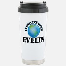 World's Best Evelin Stainless Steel Travel Mug