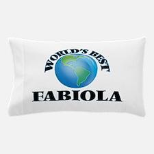World's Best Fabiola Pillow Case