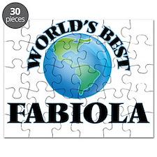 World's Best Fabiola Puzzle