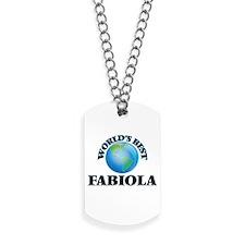 World's Best Fabiola Dog Tags