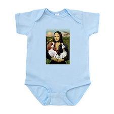 Mona's 2 Cavaliers Infant Bodysuit