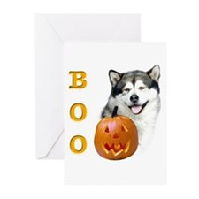 Malamute Boo Greeting Cards (Pk of 10)