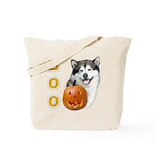 Malamute Boo Tote Bag