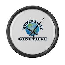 World's Best Genevieve Large Wall Clock