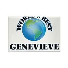 World's Best Genevieve Magnets