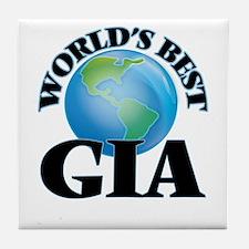 World's Best Gia Tile Coaster