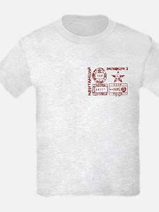 Soviet Postmark T-Shirt