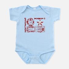 Soviet Postmark Infant Bodysuit