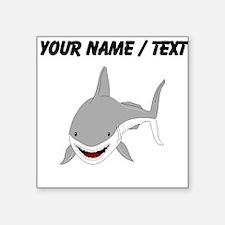 Custom Great White Shark Sticker