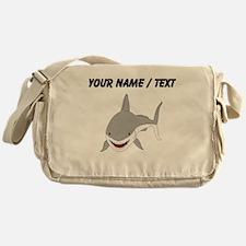 Custom Great White Shark Messenger Bag