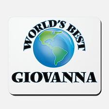 World's Best Giovanna Mousepad