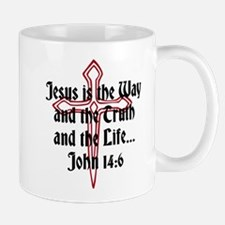 Jesus Is The Way Mugs