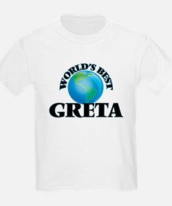 World's Best Greta T-Shirt