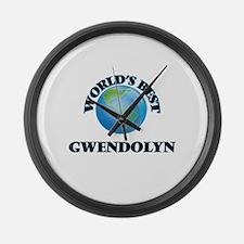 World's Best Gwendolyn Large Wall Clock