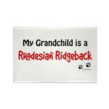 Ridgeback Grandchild Rectangle Magnet