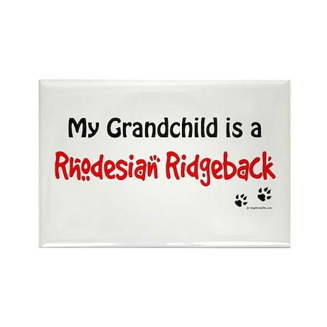 Ridgeback Grandchild Rectangle Magnet