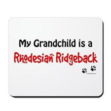 Ridgeback Grandchild Mousepad