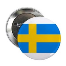 Flag of Sweden Pinned Button