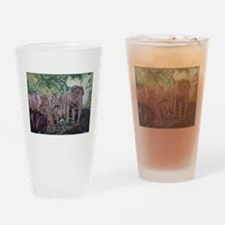 Freedom in the Forest Drinking Glass