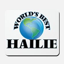 World's Best Hailie Mousepad