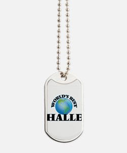 World's Best Halle Dog Tags