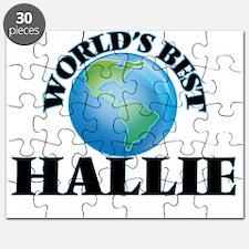 World's Best Hallie Puzzle