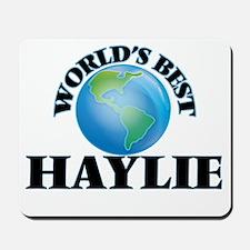 World's Best Haylie Mousepad