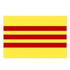 Flag of Vietnam Postcards (Package of 8)