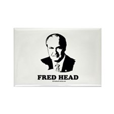 Fred Head Rectangle Magnet