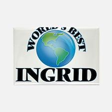 World's Best Ingrid Magnets