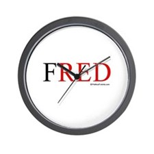 Fred 2008 Wall Clock