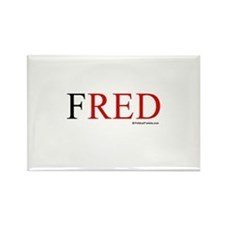 Fred 2008 Rectangle Magnet