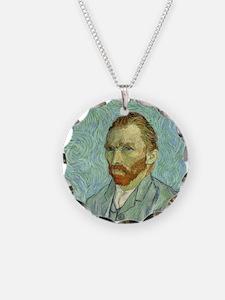 Vincent Van Gogh Self Portrait Necklace