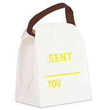 Unique Sent Canvas Lunch Bag