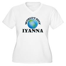 World's Best Iyanna Plus Size T-Shirt