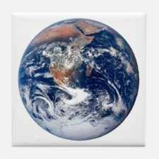 Earth From Space Tile Coaster
