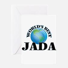 World's Best Jada Greeting Cards
