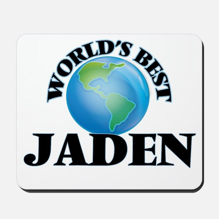 World's Best Jaden Mousepad