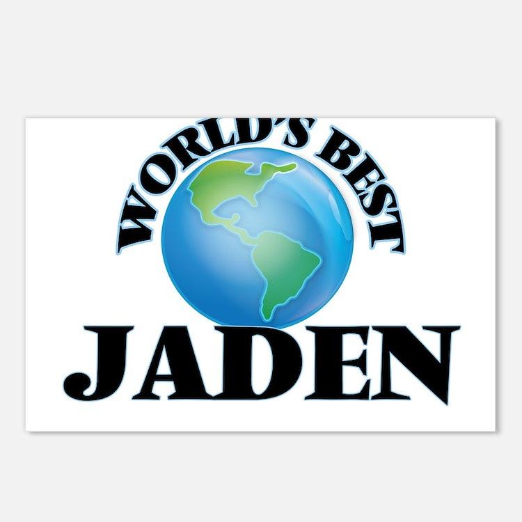 World's Best Jaden Postcards (Package of 8)