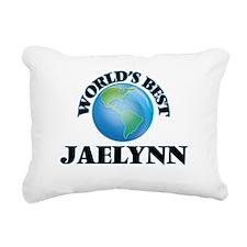 World's Best Jaelynn Rectangular Canvas Pillow