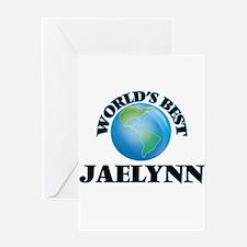World's Best Jaelynn Greeting Cards