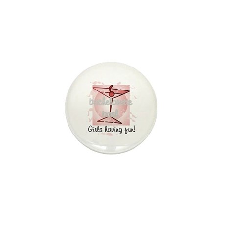Martini Girls Having Fun Mini Button (10 pack)