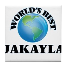 World's Best Jakayla Tile Coaster
