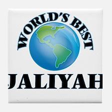 World's Best Jaliyah Tile Coaster