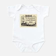Gold Express Clipper Ships Infant Bodysuit