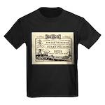 Gold Express Clipper Ships Kids Dark T-Shirt