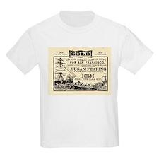 Gold Express Clipper Ships T-Shirt