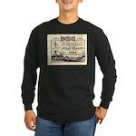 Gold Express Clipper Ships Long Sleeve Dark T-Shir